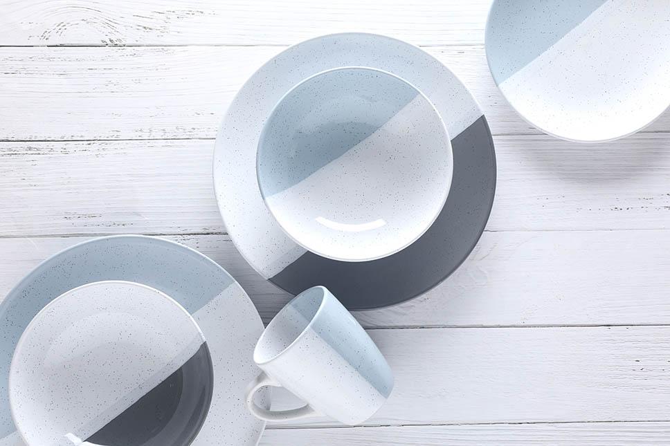 16 cross-glazed tableware sets1