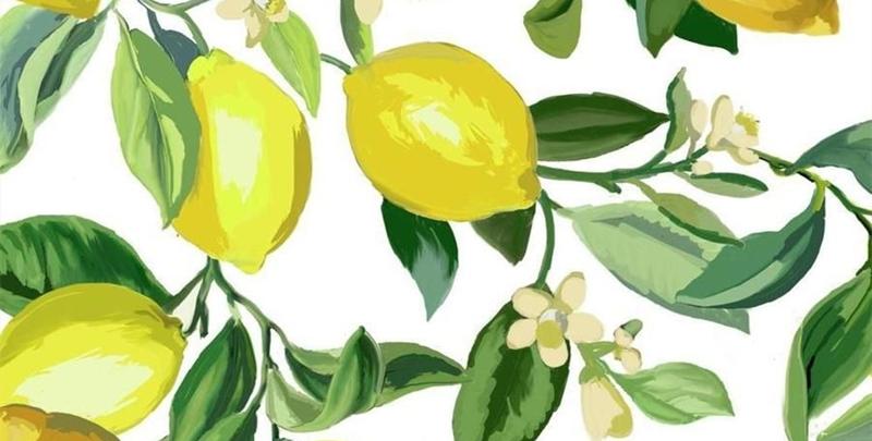 lemon porcelain
