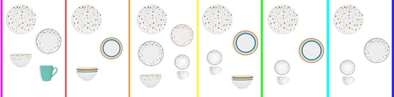 rainbow ceramic