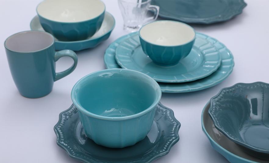 stoneware ceramic tableware