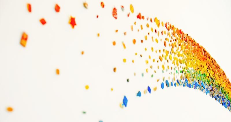 vajilla rainbow
